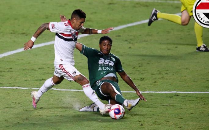 Em jogo de cinco gols, São Paulo vira contra o Guarani pelo Campeonato Paulista