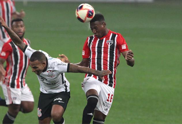 Paulistão: São Paulo empata no fim contra Corinthians, mas segue sem vencer na Neo Química Arena