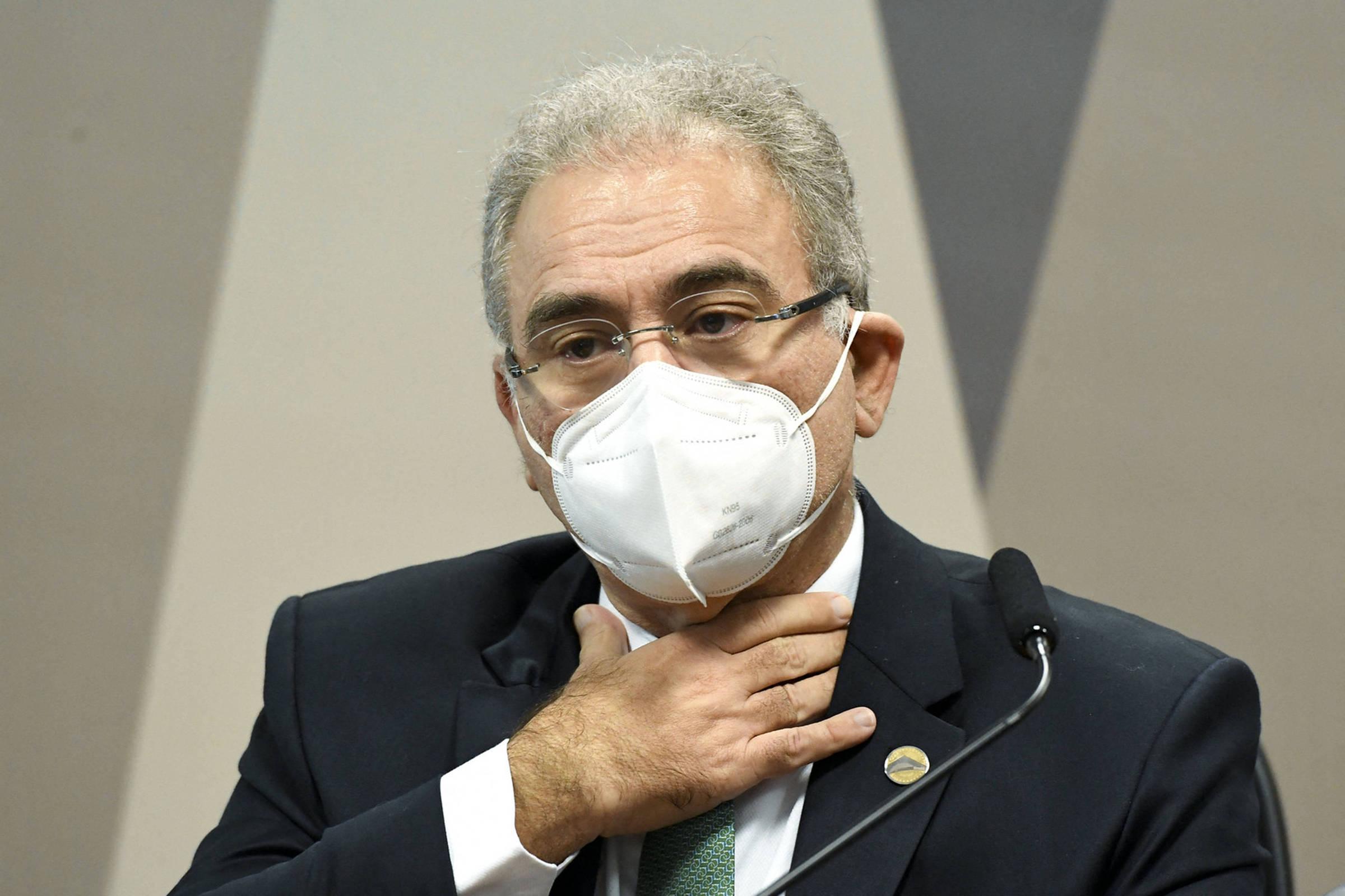 Queiroga irrita senadores na CPI da Covid ao ser evasivo sobre uso da cloroquina