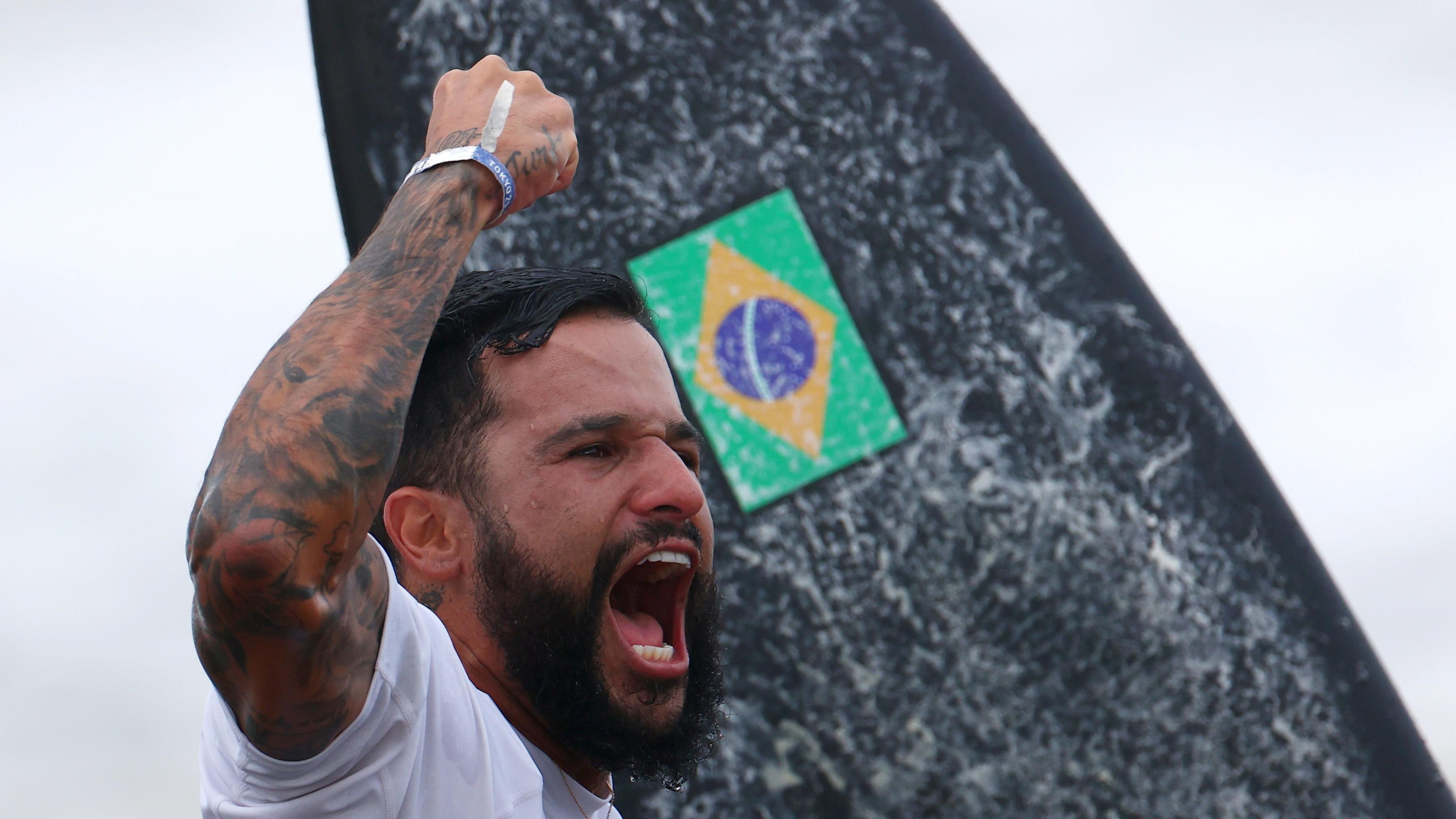 Italo Ferreira queria 'mostrar nome para todos' em competição de surfe amador, aos 14 anos, na Paraíba; VÍDEO